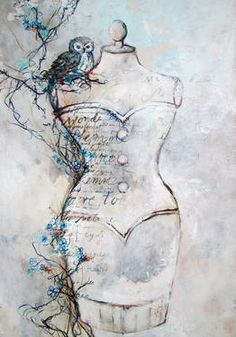 Original Women Painting by Kim Normandin Oil On Canvas, Saatchi Art, Original Paintings, Owl, Romantic, Artist, Inspiration, Blue, Biblical Inspiration