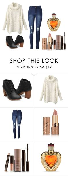 """""""Untitled #452"""" by dream-catcher-wolf-girl on Polyvore featuring tarte, Laura Mercier and Victoria's Secret"""