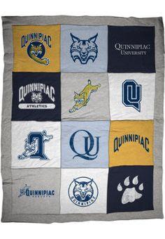 Quinnipiac University Bobcats Blanket
