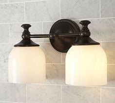Bathroom Lighting, Bath Lights & Bath Lighting Fixtures | Pottery Barn