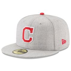 separation shoes bc52e d62ac Men s Cleveland Indians New Era Heathered Gray Heathered Hype 59FIFTY  Fitted Hat, Your Price  · Mlb ...