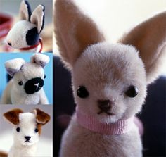 i want this book for christmas. or better yet, just the already made toy dogs!