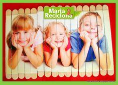 ** Maria Reciclona **: Reciclagem Palítos de Picolé