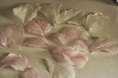 A Cake To Remember VA: How To Make Veined Wafer Paper Flower Petals