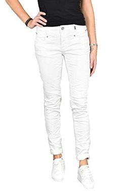 Details zu Buena Vista Malibu Damen Jeans Hose stretch slim skinny GR. S L34 blau used look