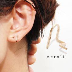 [送料無料]14kgfニップピアス『neroli-ネロリ』 | ハンドメイドマーケット minne