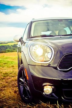 MINI Cooper Countryman - my current car, except we have different rims.