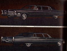 1968 Cadillac Fleetwood Series 75 Limousine