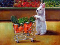 Contemporary Realism by Lucia Heffernan New Fine Arts, Bunny Art, Bunny Bunny, Easter Bunny, Wow Art, Fine Art Gallery, Contemporary Paintings, American Art, Find Art