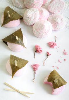 Strawberry Sakura Marshmallows | Sprinkle Bakes