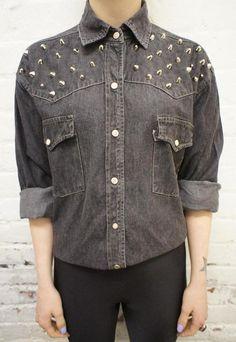 studded shirt | Tumblr