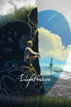Lighthouse (fragment) by Hel1x on DeviantArt