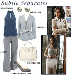 Get the look of Olivia Pope!