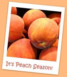It's Peach Season!   Pleasures of the Northwest