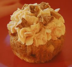 """A delicious grain-free pupcake recipe from K9 Instinct! These are fantastic to bake on special occasions, and they are grain free for dogs with grain allergies or sensitivities. """"Pupcakes"""" are dog-friendly cupcakes with dog-friendly icing! Easy to make and inexpensive!"""