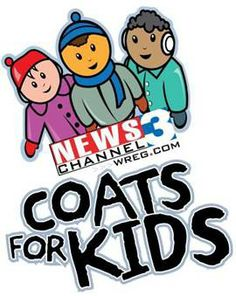 Hurry in and donate your new or gently used coats for the #CoatsforKids donation drive. City Auto #Memphis is a donations drop-off spot located at 4932 Elmore Rd.  Memphis, TN 38128.