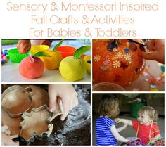 19 Sensory & Montessori Inspired Fall Crafts & Activities