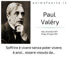 "🔲 Oggi nasceva Paul Valéry Noi lo ricordiamo con un suo ""Cattivo Pensiero""  📒 Paul Valéry, Cattivi Pensieri 👉 amzn.to/2A0dYcC"