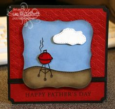 Father's Day BBQ by nuttnhoney - Cards and Paper Crafts at Splitcoaststampers