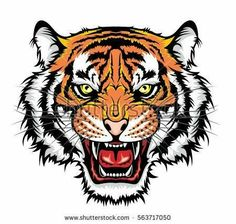Purchase Face Tiger Head Tattoo Lion Jungle Hunter Monster Siberian Anger Wall Art Hanging Tapestry inch from Hedda Stan on OpenSky. Tiger Head Tattoo, Head Tattoos, Hanging Tapestry, Hanging Wall Art, Wall Hangings, Art Tigre, Tatuagem Old School, Tiger Art, Shirt Print Design