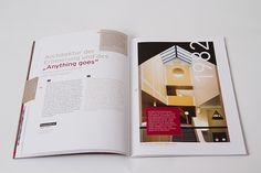 UBM annual report 2013 by Projektagentur Weixelbaumer, via Behance Editorial Design, Behance, Memories, Editorial Layout