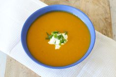 Classic Roast Pumpkin Soup Thermomix Pumpkin Soup, Roasted Pumpkin Soup Recipe, Roast Pumpkin Soup, Easy Soup Recipes, Chowder Recipes, Winter Soups, Best Food Ever, Holiday Recipes, Fall Recipes