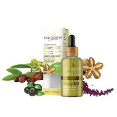 Eco by Sonya certified organic Glory Oil, containing super seeds, including inca inchi, acai & pumpkin seed oil is a miraculous night and day treatment oil pioneered to reduce the appearance of scars and fine lines and restore you skin to its true glory. Organic Oil, Organic Skin Care, Vitamin E, Bio Oil Stretch Marks, Chia Seed Oil, Anti Aging, Cold Pressed Oil, Safe Cosmetics, Pumpkin Seed Oil