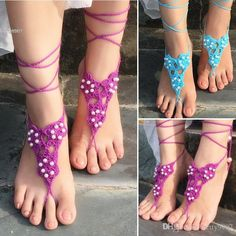 2016 2016 New Design Hot Fashion Stylish Women Lady Barefoot Sandals Crochet Feet Anklet Ankle Chain Beach Jewelry From Betty9907, $4.43   Dhgate.Com