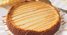 Thumbnail for 141975 No Bake Desserts, Dessert Recipes, Salted Caramel Cheesecake, Savoury Baking, I Love Food, Baked Goods, Sweet Tooth, Food Porn, Food And Drink