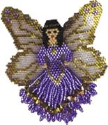 Fairy (#FB1) at Sova-Enterprises.com 3-D Fairy, includes; basic brick stitch instructions, color graphs for body and wing section, suggested Delica Beads used and basic instructions to make this item into a pin. This is one of various Fairies offered in my Butterfly and Fairy Book also available on this site. Book to Print yourself available at Bead-Patterns.com: Click here Pattern is included in a Book (Printed format or on CD), available at: Sova-Enterprises.com Designer/Supplier: Rita…