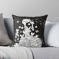 Promote | Redbubble Throw Pillows, Black And White, Mugs, Wall Art, Shirts, Home, Toss Pillows, Cushions, Black N White