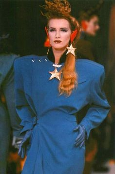 80s  THE SHOULDER PADS #WomenSFashionTopHeavy