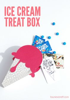 Ice Cream Treat Box