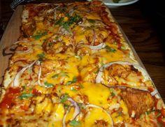 bbq chicken flatbread pizza at Kona Grill