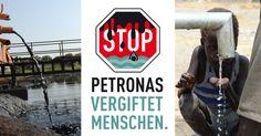 #keingiftwasser, Petronas!