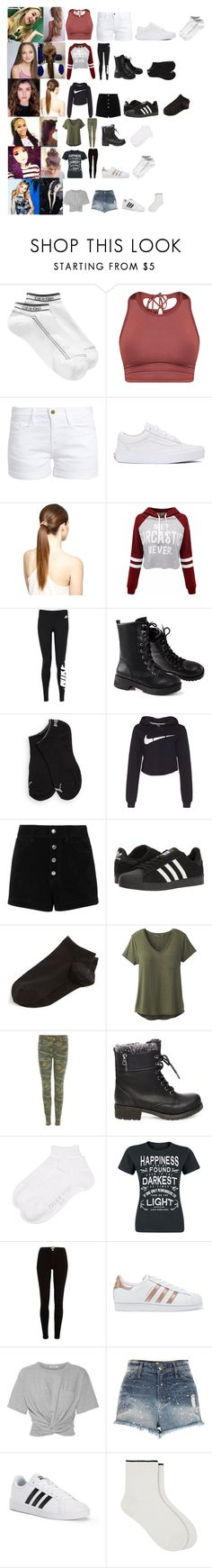 """""""Dance Class. (( RTD ))"""" by the-walking-dead-and-wwe-lover ❤ liked on Polyvore featuring Calvin Klein, Frame, Vans, WithChic, NIKE, Puma, rag & bone/JEAN, adidas, Wolford and prAna"""