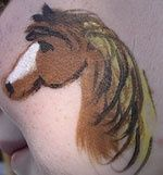 face paint horse - Google Search