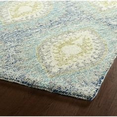 Found it at Wayfair - Habous Hand-Tufted Blue Area Rug