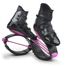 Kangoo jumping boots for sale-they have become even more popular in the health, and fitness field. Apparently it's a lot of fun to get your cardio workout in by bouncing around like a Tigger.
