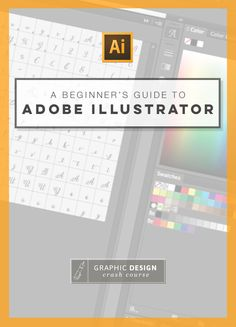 So helpful! A Beginner's Guide to Adobe Illustrator #graphicdesign #illustratorhacks http://graphicdesigncrashcourse.com/the-basics-of-adobe-illustrator/