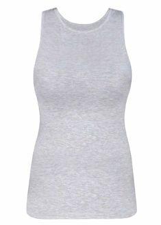 c62610e4b19 Shell tank top for layering offering modesty and convenience. Extended  coverage with long waist makes