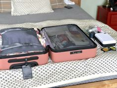 How I use packing cubes to travel with only a carry on - A Foodie Stays Fit