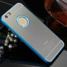 Blue diamond mirror iphone6 case All colors available for iphone6/6S and iPhone 6 Plus if your model and color not listed please kindly ask me to make a listing for u. Thank you plz check my other Mk cases. Accessories Phone Cases