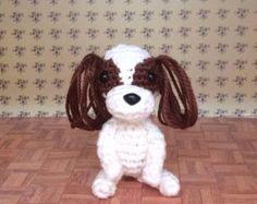 Cavalier King Charles Spaniel/Amigurumi/Stuffed Animal/ Handmade/Plush toy