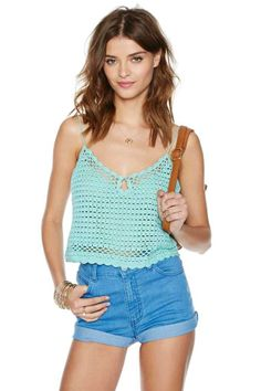Somedays Lovin' Mavericks Crop Top