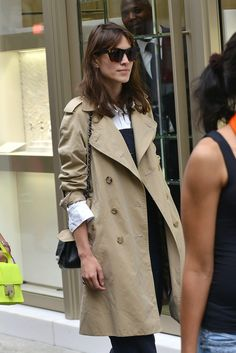The spring must have trench coat. #chic
