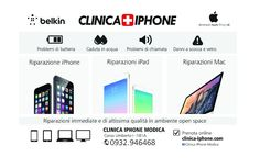Clinica IPHONE ADV - Advertising for magazine layout #smartphone #negozio #solutions #advertising #magazine #layout #graphic #design #inspiration #campain #pubblicità #media #creative #ideas #photograpy  www.euromanagement.it