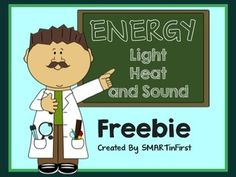 Worksheets Heat Light And Sound Worksheets For 4th Grade form of recording sheets and worksheets on pinterest this freebie contains 3 that you can use with your students to review light heat sound energy enjoy