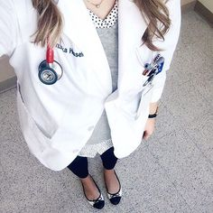 Franish: med school outfit