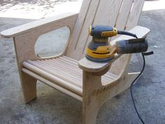 This guy uses a bunch of dowels for a brilliant backyard seating hack